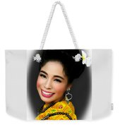 Portrait Of Culture Weekender Tote Bag