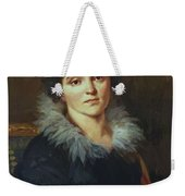 Portrait Of Darya Nikolaevna Chvostova 1814 Weekender Tote Bag
