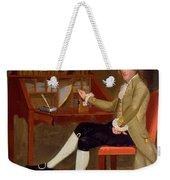 Portrait Of David Baldwin 1790 Weekender Tote Bag