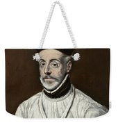 Portrait Of Diego De Covarrubias Y Leiva Weekender Tote Bag