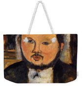 Portrait Of Diego Rivera 1914 Weekender Tote Bag