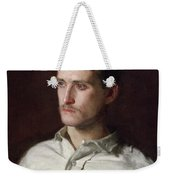 Portrait Of Douglass Morgan Hall Weekender Tote Bag