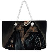 Portrait Of Dr. Francisco De Pisa Weekender Tote Bag