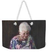 Portrait Of Edwinna Weekender Tote Bag