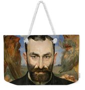 Portrait Of Feliks Jasienski Weekender Tote Bag