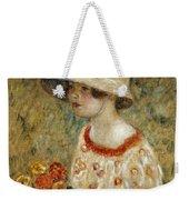 Portrait Of Frances Kilmer Weekender Tote Bag