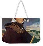Portrait Of Francois Marius Granet Weekender Tote Bag