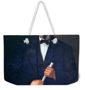 Portrait Of Frederick Douglass Weekender Tote Bag