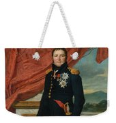 Portrait Of French Politician And Soldier Etienne Maurice Gerard Weekender Tote Bag