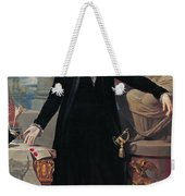Portrait Of George Washington Weekender Tote Bag by Joes Perovani