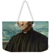 Portrait Of Girolamo Benivieni Weekender Tote Bag
