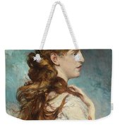 Portrait Of Harriet Valentine Weekender Tote Bag