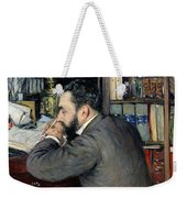 Portrait Of Henri Cordier Weekender Tote Bag