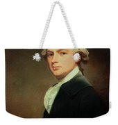 Portrait Of Henry Russell Weekender Tote Bag by George Romney
