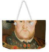 Portrait Of Henry Viii Weekender Tote Bag