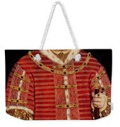 Portrait Of Henry Viii Weekender Tote Bag by Hans Holbein the Younger