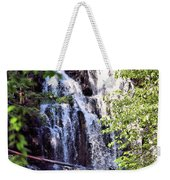 Portrait Of Houston Brook Falls Weekender Tote Bag