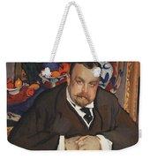 Portrait Of Ivan Morozov 1910 Valentin Serov Weekender Tote Bag