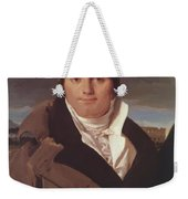 Portrait Of Joseph Antoine Moltedo Weekender Tote Bag