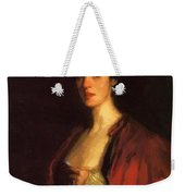Portrait Of Katherine Cecil Sanford Weekender Tote Bag