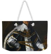 Portrait Of King Charles I After Van Dyck Weekender Tote Bag