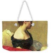 Portrait Of Madame Maitre Weekender Tote Bag by Ignace Henri Jean Fantin Latour