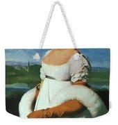 Portrait Of Mademoiselle Riviae 1805 Weekender Tote Bag