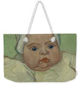 Portrait Of Marcelle Roulin Arles, December 1888 Vincent Van Gogh 1853  1890 Weekender Tote Bag
