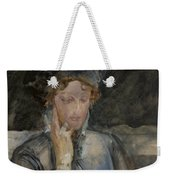 Portrait Of Maria Bal Weekender Tote Bag