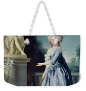Portrait Of Marie-louise Victoire De France Weekender Tote Bag