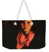 Portrait Of Mary Ann 1926 Weekender Tote Bag