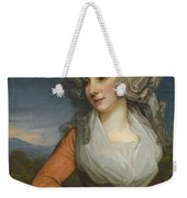 Portrait Of Mary Livius Weekender Tote Bag