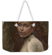 Portrait Of Mery Laurent Weekender Tote Bag