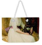 Portrait Of Miss Dorothy Dicksee  Weekender Tote Bag