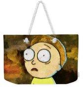 Portrait Of Morty Weekender Tote Bag