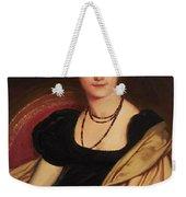 Portrait Of Mrs Devauay Weekender Tote Bag