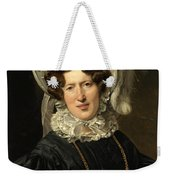 Portrait Of Mrs Wartfeld Weekender Tote Bag