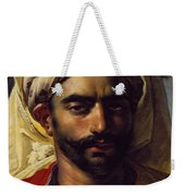 Portrait Of Mustapha Weekender Tote Bag