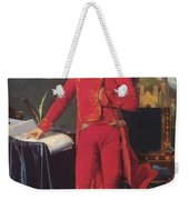 Portrait Of Napolan Bonaparte The First Council 1804 Weekender Tote Bag