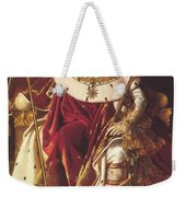 Portrait Of Napolan On The Imperial Throne 1806 Weekender Tote Bag