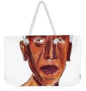 Portrait Of Old Man Weekender Tote Bag