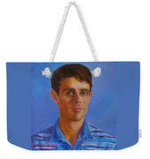 Portrait Of Canadian Operatic Tenor Paul Ouellette  Weekender Tote Bag