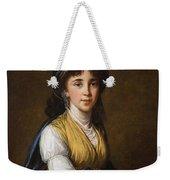 Portrait Of Princess Belozersky Lisabeth Louise Vige Le Brun Weekender Tote Bag