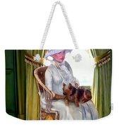 Portrait Of Prudence Weekender Tote Bag