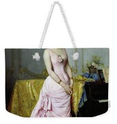 Portrait Of Rose Caron Weekender Tote Bag