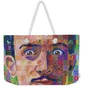 Portrait Of Salvador Dali Weekender Tote Bag