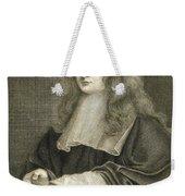 Portrait Of Sir Isaac Newton Weekender Tote Bag