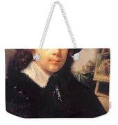 Portrait Of The Artist In His Studio Weekender Tote Bag