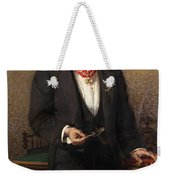 Portrait Of The Commander A Salviati Weekender Tote Bag