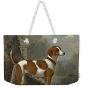 Portrait Of The Duke Of Hamilton's Hound Jewell Weekender Tote Bag